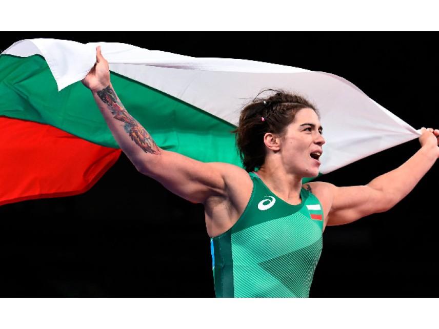 Тайбе Юсеин донесе трети медал на България в Токио