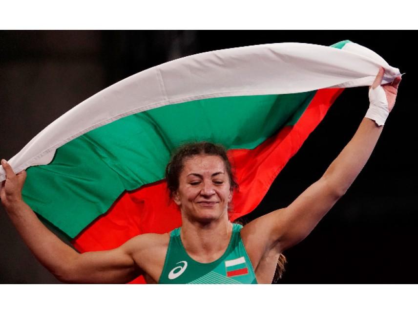 Евелина Николова взе бронз в борбата