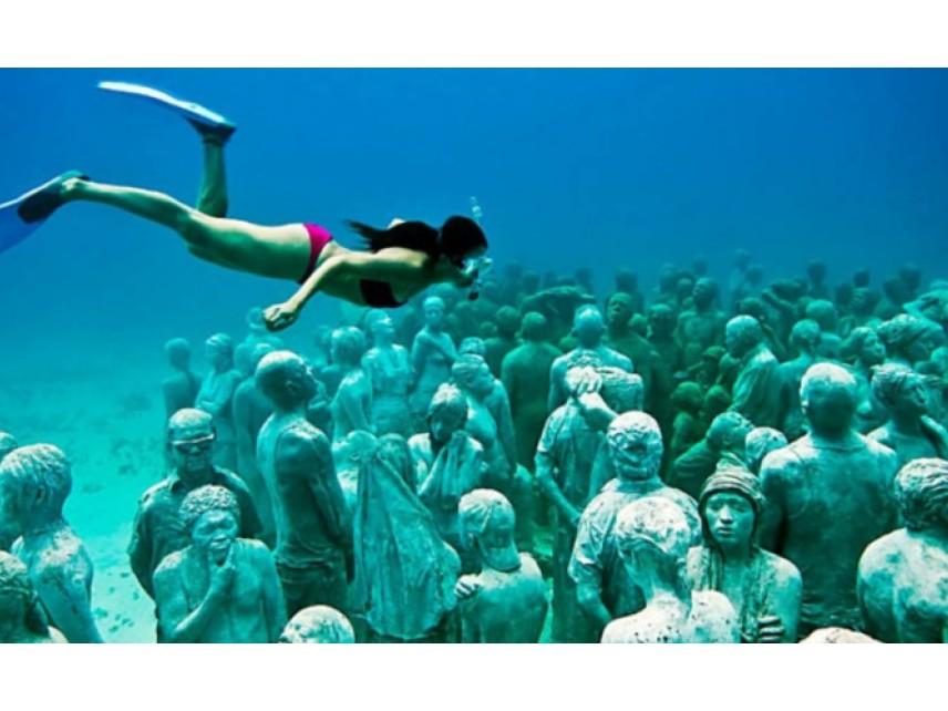Край бреговете на Агия Напа се открива първият в Средиземно море подводен музей