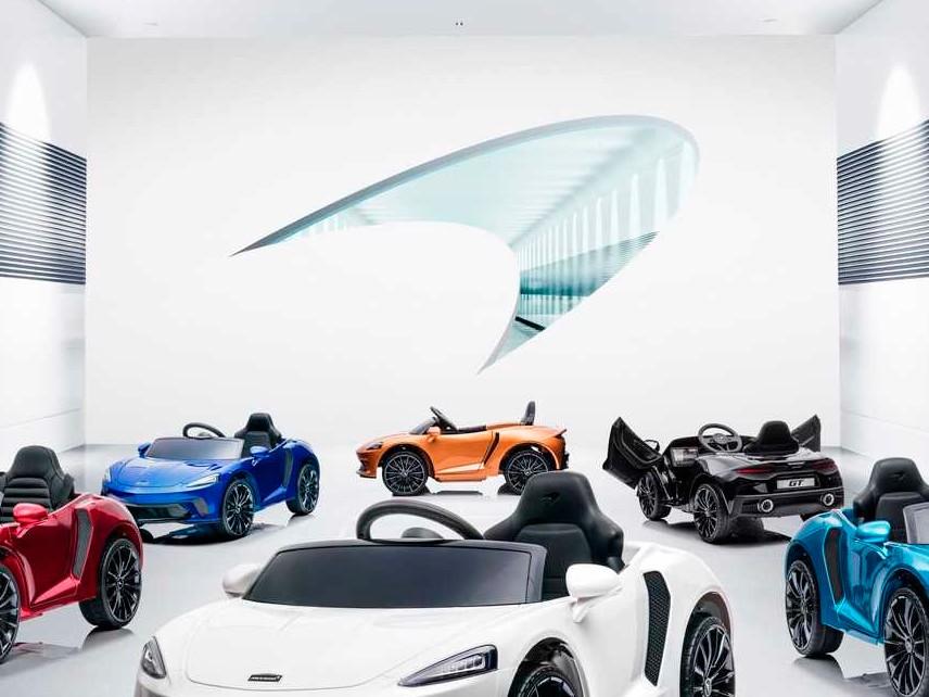 McLaren представи детски суперкар GT Ride-On