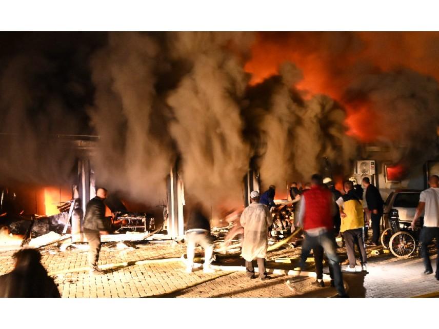 Пожарът в Covid болница в Тетово е бил предизвикан от експлозия