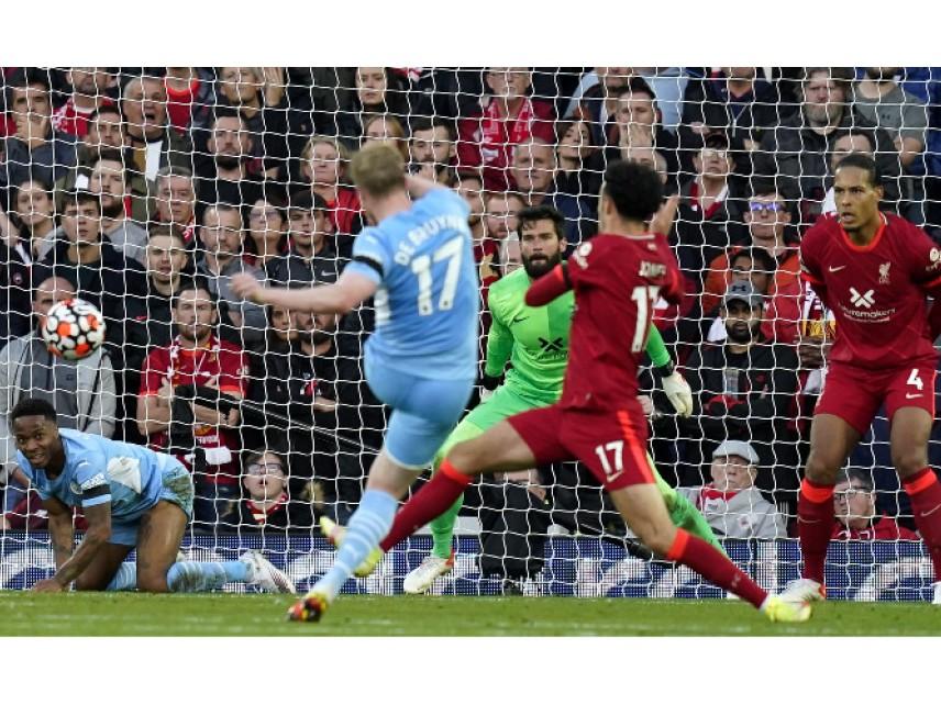 Зрелищно 2:2 на Ливърпул - Манчестър Сити