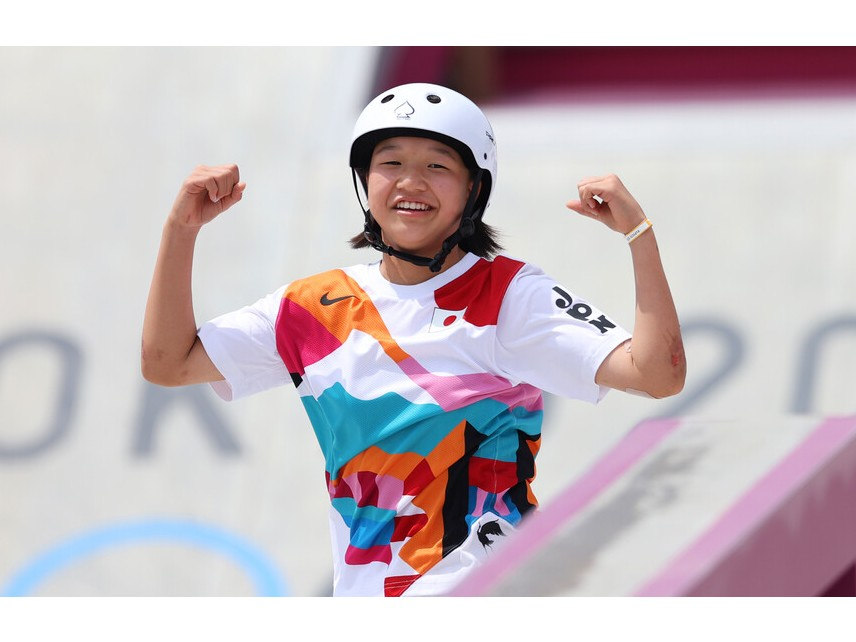 ОЛИМПИЙСКА ШАМПИОНКА НА 13: Японска тинейджърка триумфира в Токио